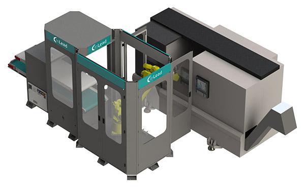 Inline robotcell automation för produktion