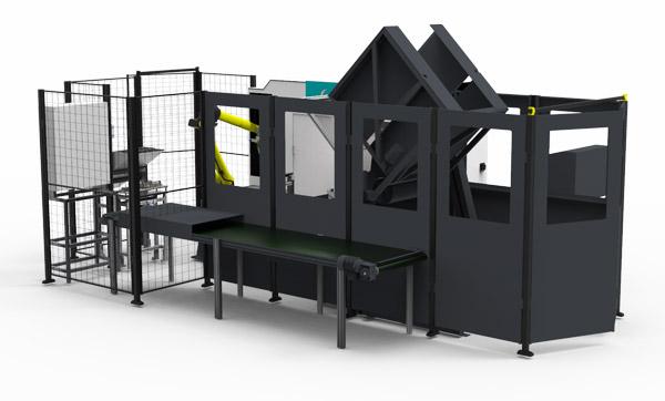 maskinbetjäningscell Inveyor automation